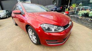 2013 Volkswagen Golf VII MY14 110TDI DSG Highline Red 6 Speed Sports Automatic Dual Clutch Hatchback.