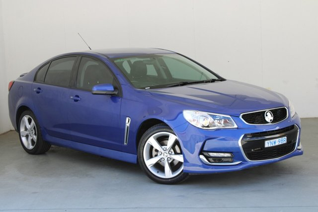Used Holden Commodore VF II MY16 SV6 Phillip, 2016 Holden Commodore VF II MY16 SV6 Blue 6 Speed Sports Automatic Sedan