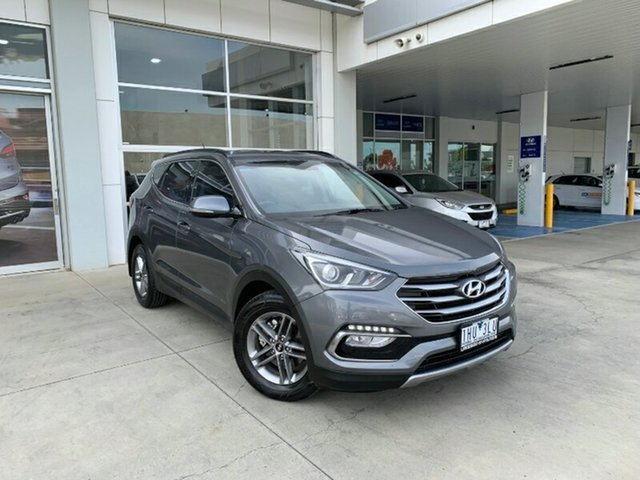 Used Hyundai Santa Fe DM3 MY16 Active Melton, 2016 Hyundai Santa Fe DM3 MY16 Active Titanium Silver 6 Speed Sports Automatic Wagon
