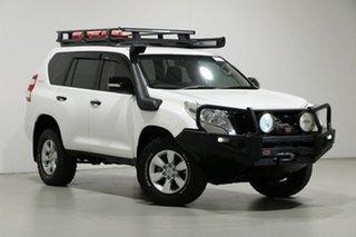 2015 Toyota Landcruiser Prado GDJ150R MY16 GX (4x4) White 6 Speed Automatic Wagon.