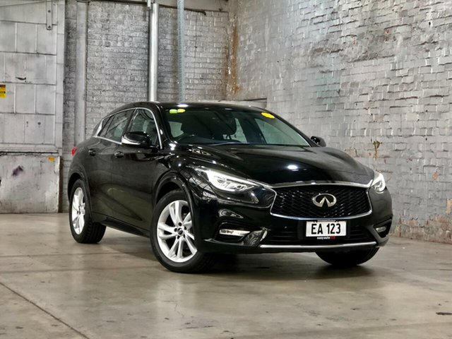 Used Infiniti Q30 H15 GT D-CT Mile End South, 2016 Infiniti Q30 H15 GT D-CT Black 7 Speed Sports Automatic Dual Clutch Wagon