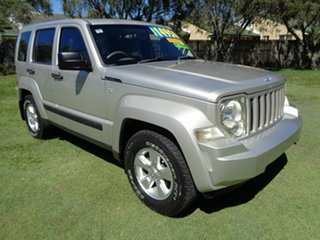 2009 Jeep Cherokee KK MY08 Sport Gold 4 Speed Automatic Wagon.