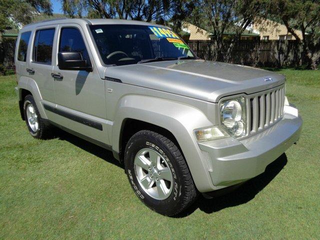 Used Jeep Cherokee KK MY08 Sport Kippa-Ring, 2009 Jeep Cherokee KK MY08 Sport Gold 4 Speed Automatic Wagon