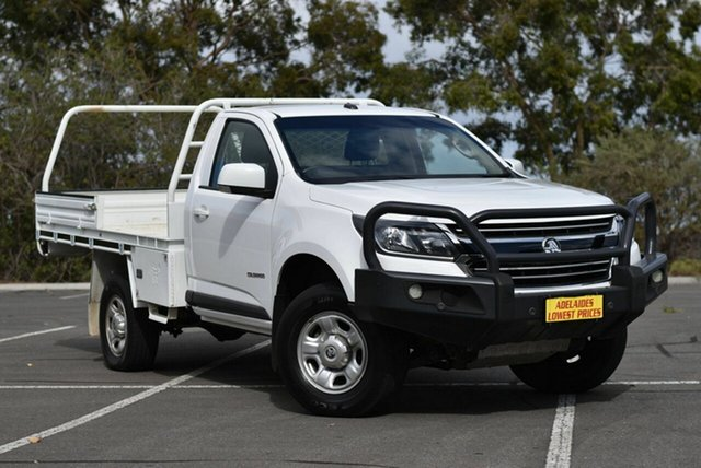 Used Holden Colorado RG MY18 LS 4x2 Enfield, 2018 Holden Colorado RG MY18 LS 4x2 White 6 Speed Sports Automatic Cab Chassis