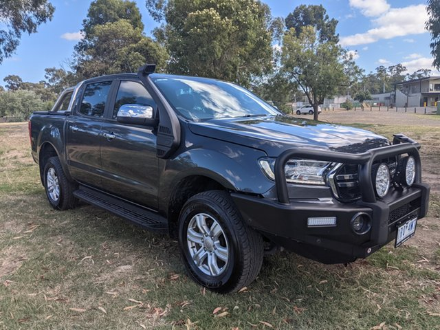 Used Ford Ranger Epsom, 2019 Ford Ranger XLT Grey 6 Speed Manual Dual Cab