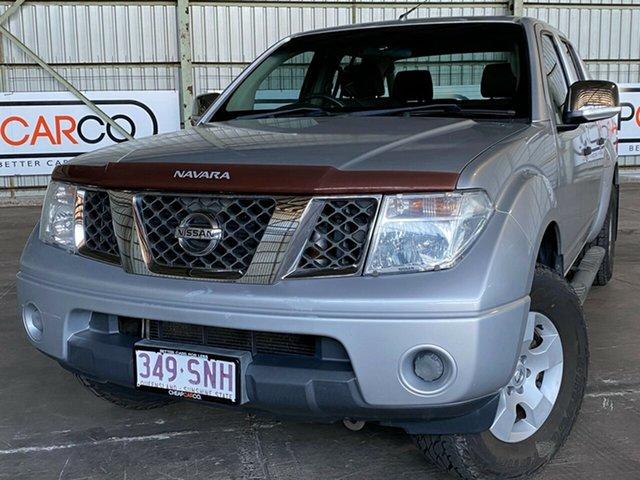Used Nissan Navara D40 ST-X Rocklea, 2009 Nissan Navara D40 ST-X Silver 6 Speed Manual Utility