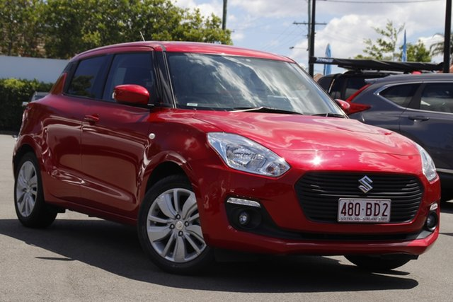 Used Suzuki Swift AZ GL Navigator Mount Gravatt, 2019 Suzuki Swift AZ GL Navigator Red 1 Speed Constant Variable Hatchback