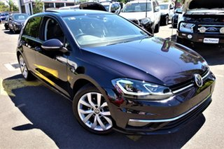 2017 Volkswagen Golf 7.5 MY18 110TSI DSG Highline Black 7 Speed Sports Automatic Dual Clutch.