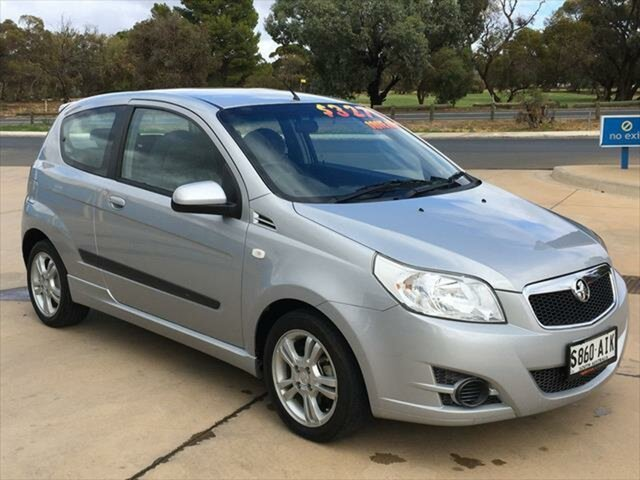 Used Holden Barina TK MY10 Berri, 2010 Holden Barina TK MY10 Silver 5 Speed Manual Hatchback