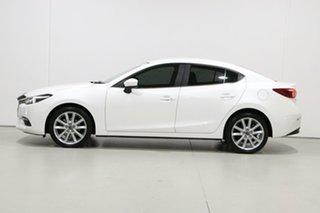 2017 Mazda 3 BN MY17 SP25 GT White 6 Speed Manual Sedan