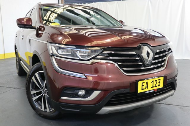 Used Renault Koleos HZG Initiale X-tronic Castle Hill, 2018 Renault Koleos HZG Initiale X-tronic Red/Black 1 Speed Constant Variable Wagon