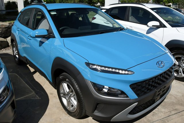 New Hyundai Kona Os.v4 MY21 2WD Beaudesert, 2020 Hyundai Kona Os.v4 MY21 2WD Dive in Jeju 8 Speed Constant Variable Wagon
