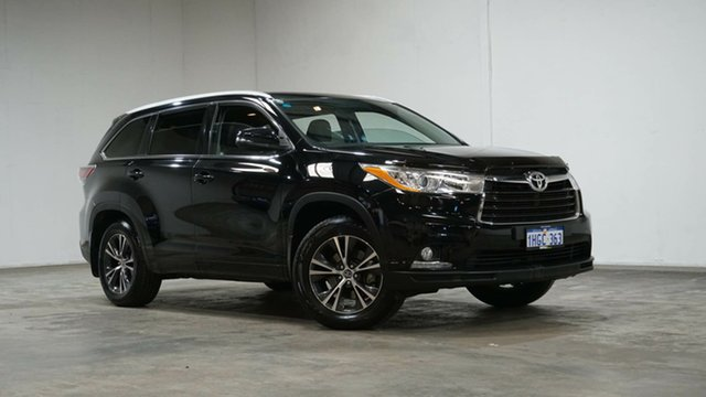 Used Toyota Kluger GSU55R GXL AWD Welshpool, 2016 Toyota Kluger GSU55R GXL AWD Black 6 Speed Sports Automatic Wagon