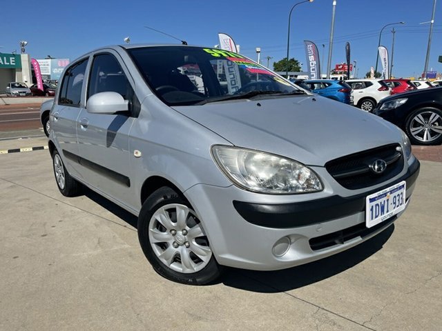 Used Hyundai Getz TB MY09 SX Victoria Park, 2011 Hyundai Getz TB MY09 SX Silver 5 Speed Manual Hatchback