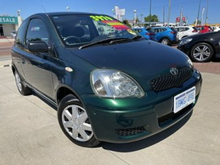 2003 Toyota Echo NCP10R MY03 Green 4 Speed Automatic Hatchback.
