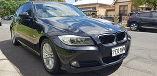 2009 BMW 320d E90 MY09 Executive Black 6 Speed Auto Steptronic Sedan.