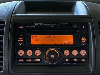 2009 Nissan Navara D40 ST-X Silver 6 Speed Manual Utility