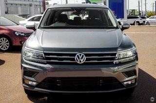 2020 Volkswagen Tiguan 5N MY20 132TSI Comfortline DSG 4MOTION Allspace Grey 7 Speed.