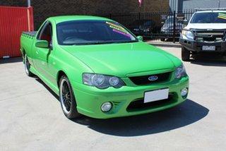 2008 Ford Falcon BF MkII XR6 Green 4 Speed Auto Seq Sportshift Utility.
