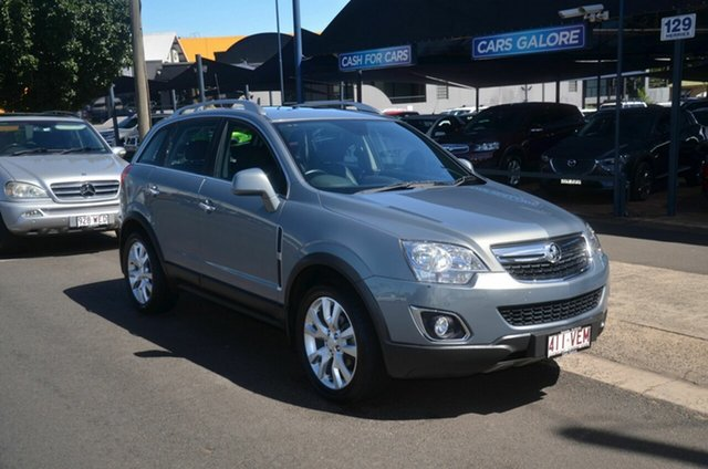Used Holden Captiva CG MY14 5 LTZ (FWD) Toowoomba, 2014 Holden Captiva CG MY14 5 LTZ (FWD) Silver 6 Speed Automatic Wagon