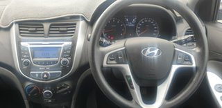 2012 Hyundai Accent RB Active Grey 5 Speed Manual Hatchback