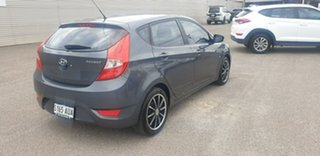 2012 Hyundai Accent RB Active Grey 5 Speed Manual Hatchback.
