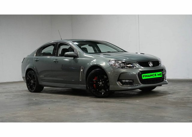 Used Holden Commodore VF II MY16 SS V Redline Welshpool, 2016 Holden Commodore VF II MY16 SS V Redline Grey 6 Speed Manual Sedan