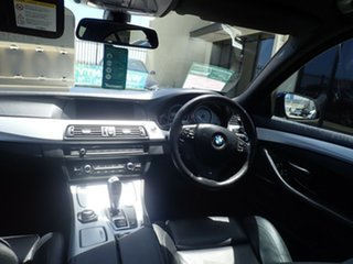 2011 BMW 5 Series F10 MY11 528i Steptronic Black Magic 8 Speed Sports Automatic Sedan