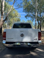 2020 Volkswagen Amarok 2H MY21 TDI550 4MOTION Perm Sportline Candy White 8 Speed Automatic Utility