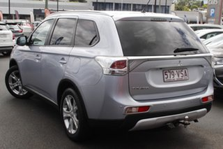 2014 Mitsubishi Outlander ZJ MY14.5 LS 2WD Silver 6 Speed Constant Variable Wagon