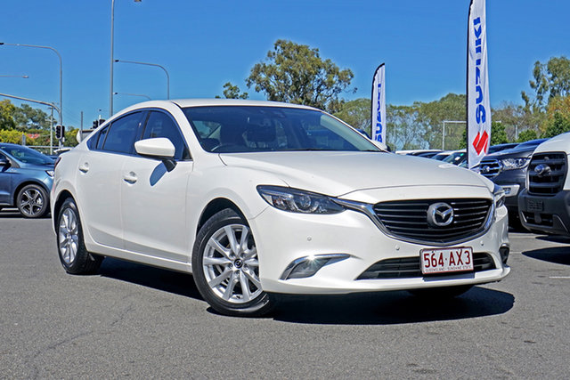 Used Mazda 6 GL1021 Touring SKYACTIV-Drive Ebbw Vale, 2016 Mazda 6 GL1021 Touring SKYACTIV-Drive 6 Speed Sports Automatic Sedan