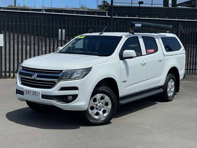 Used Holden Colorado RG MY17 LS Pickup Crew Cab 4x2 Newcastle, 2016 Holden Colorado RG MY17 LS Pickup Crew Cab 4x2 White 6 Speed Sports Automatic Utility
