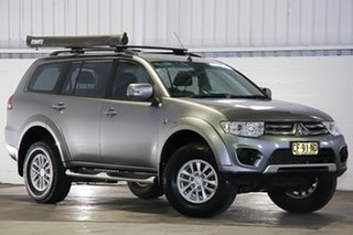 2015 Mitsubishi Challenger PC (KH) MY14 Silver 5 Speed Sports Automatic Wagon.