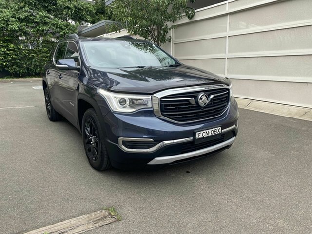 Used Holden Acadia AC MY19 LT 2WD Zetland, 2019 Holden Acadia AC MY19 LT 2WD Blue 9 Speed Sports Automatic Wagon