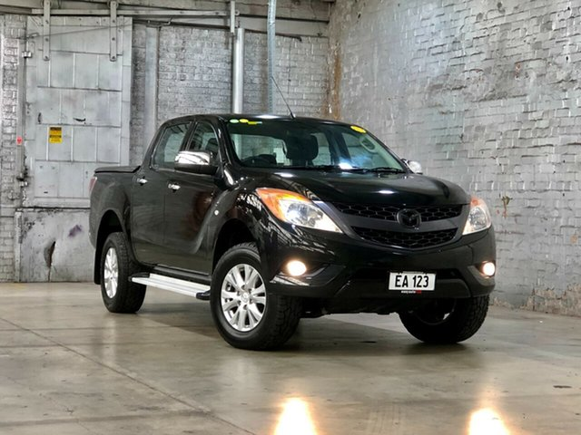 Used Mazda BT-50 UP0YF1 XTR Mile End South, 2013 Mazda BT-50 UP0YF1 XTR Black 6 Speed Sports Automatic Utility
