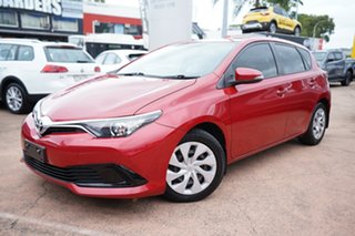 2015 Toyota Corolla ZRE182R Ascent Red 7 Speed CVT Auto Sequential Hatchback.