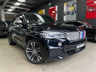 2016 BMW X5 F15 M50D Black Sports Automatic Wagon.
