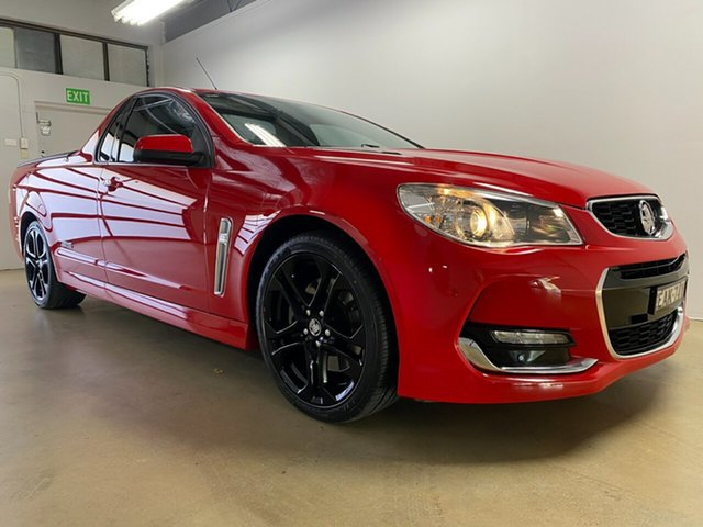 Used Holden Ute VF II SS Phillip, 2016 Holden Ute VF II SS Red 6 Speed Automatic Utility