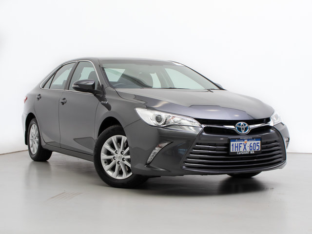 Used Toyota Camry AVV50R MY16 Altise Hybrid, 2017 Toyota Camry AVV50R MY16 Altise Hybrid Grey Continuous Variable Sedan