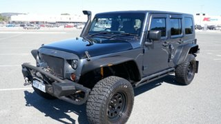 2008 Jeep Wrangler JK Unlimited Sport Blue 4 Speed Automatic Softtop