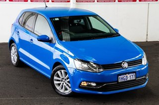 2015 Volkswagen Polo 6R MY15 81 TSI Comfortline 7 Speed Auto Direct Shift Hatchback.
