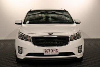 2017 Kia Carnival YP MY18 SI White 6 speed Automatic Wagon.