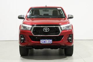 2019 Toyota Hilux GUN126R MY19 Upgrade SR5 (4x4) Red 6 Speed Automatic Double Cab Pick Up.