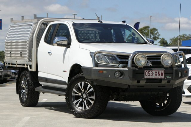 Used Holden Colorado RG MY18 LTZ Pickup Space Cab Aspley, 2017 Holden Colorado RG MY18 LTZ Pickup Space Cab White 6 Speed Sports Automatic Utility