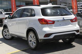 2019 Mitsubishi ASX XC MY19 ES 2WD White 1 Speed Constant Variable Wagon.