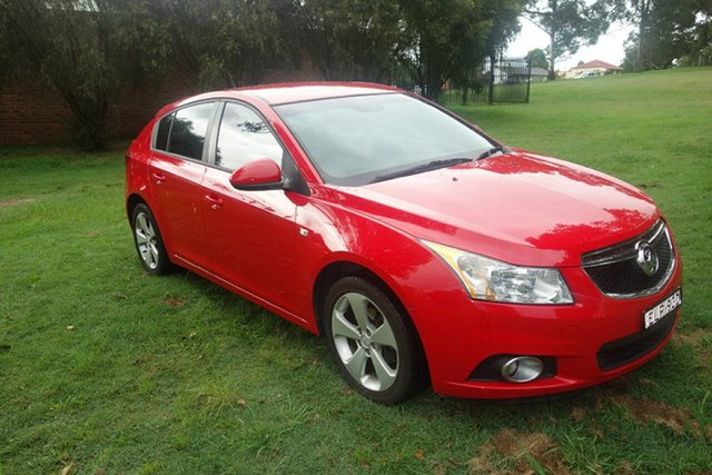 Used Holden Cruze JH Series II MY14 Equipe East Maitland, 2014 Holden Cruze JH Series II MY14 Equipe Red 6 Speed Sports Automatic Hatchback