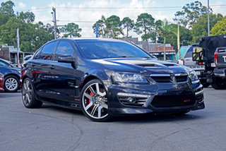 2012 Holden Special Vehicles GTS E Series 3 MY12 Black 6 Speed Manual Sedan.