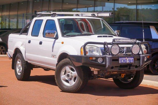 Used Nissan Navara D22 S5 ST-R Gosnells, 2012 Nissan Navara D22 S5 ST-R White 5 Speed Manual Utility