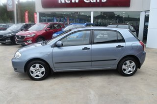 2003 Toyota Corolla ZZE122R Ascent Silver 4 Speed Automatic Hatchback