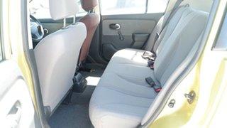 2008 Nissan Tiida C11 MY07 ST Green 6 Speed Manual Hatchback